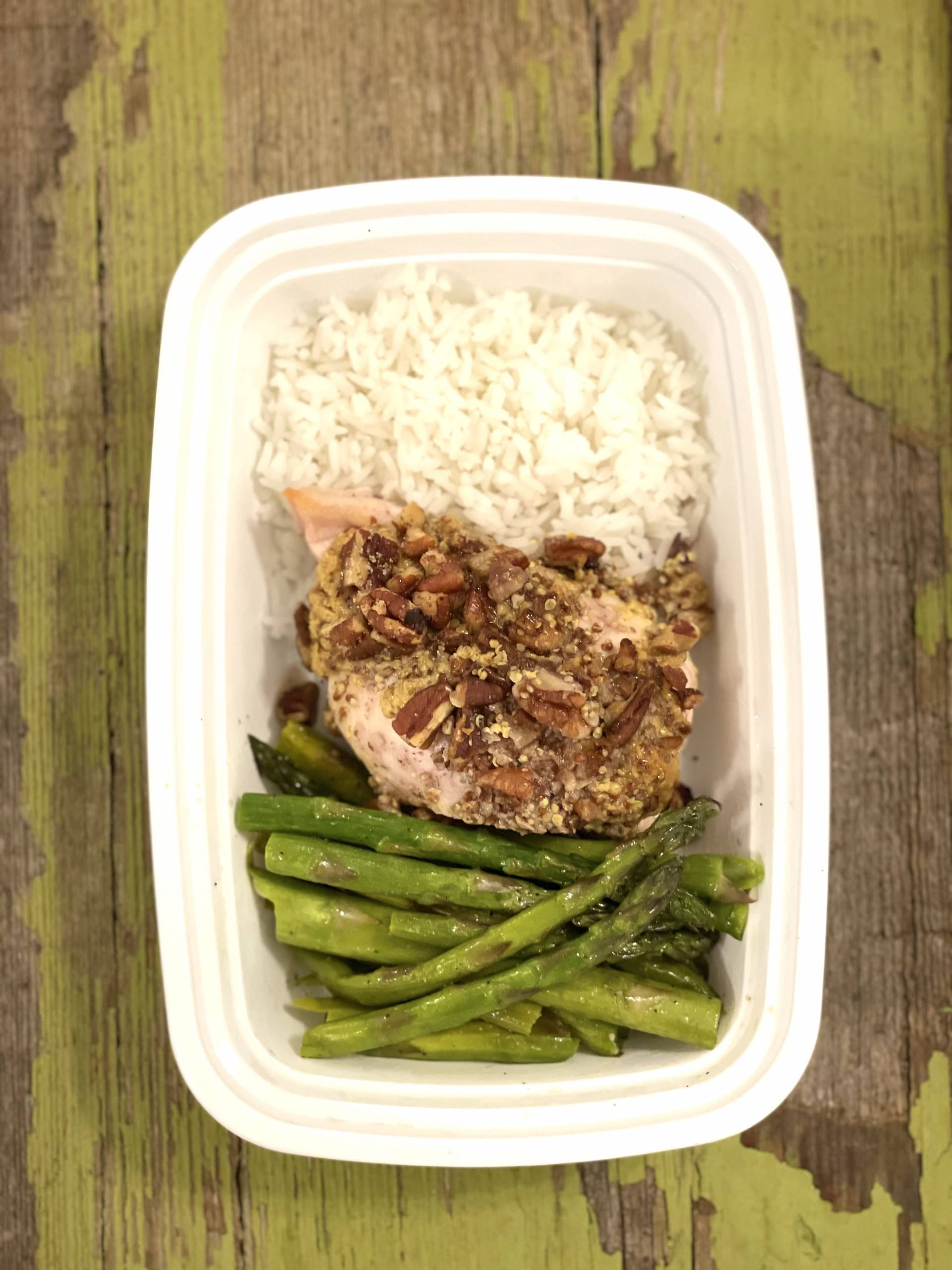 1 lb. Pecan Crusted Chicken