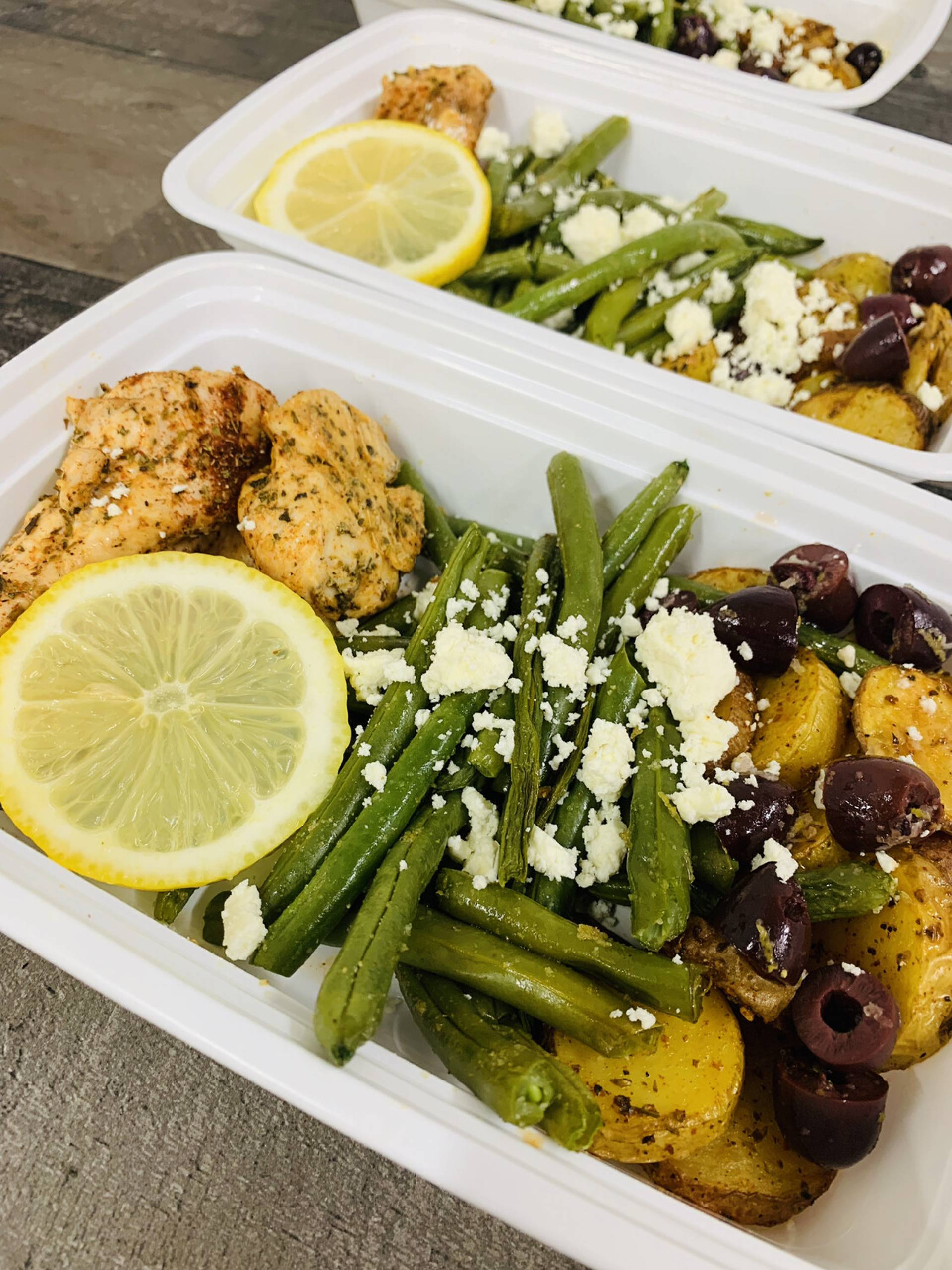 Greek Chicken and Potatoes Dairy-free