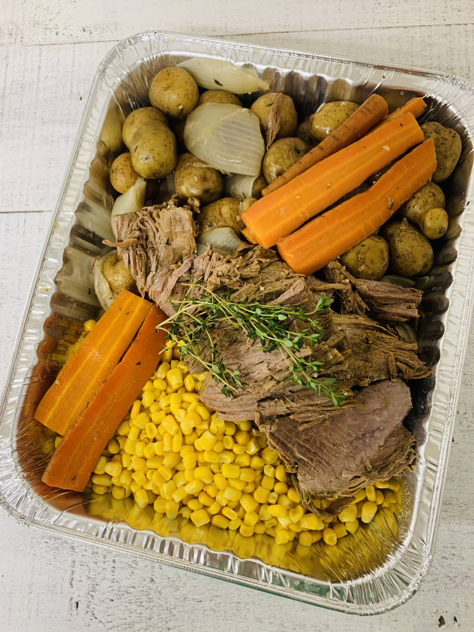Beef Roast Family Meal (Feeds 6-8)