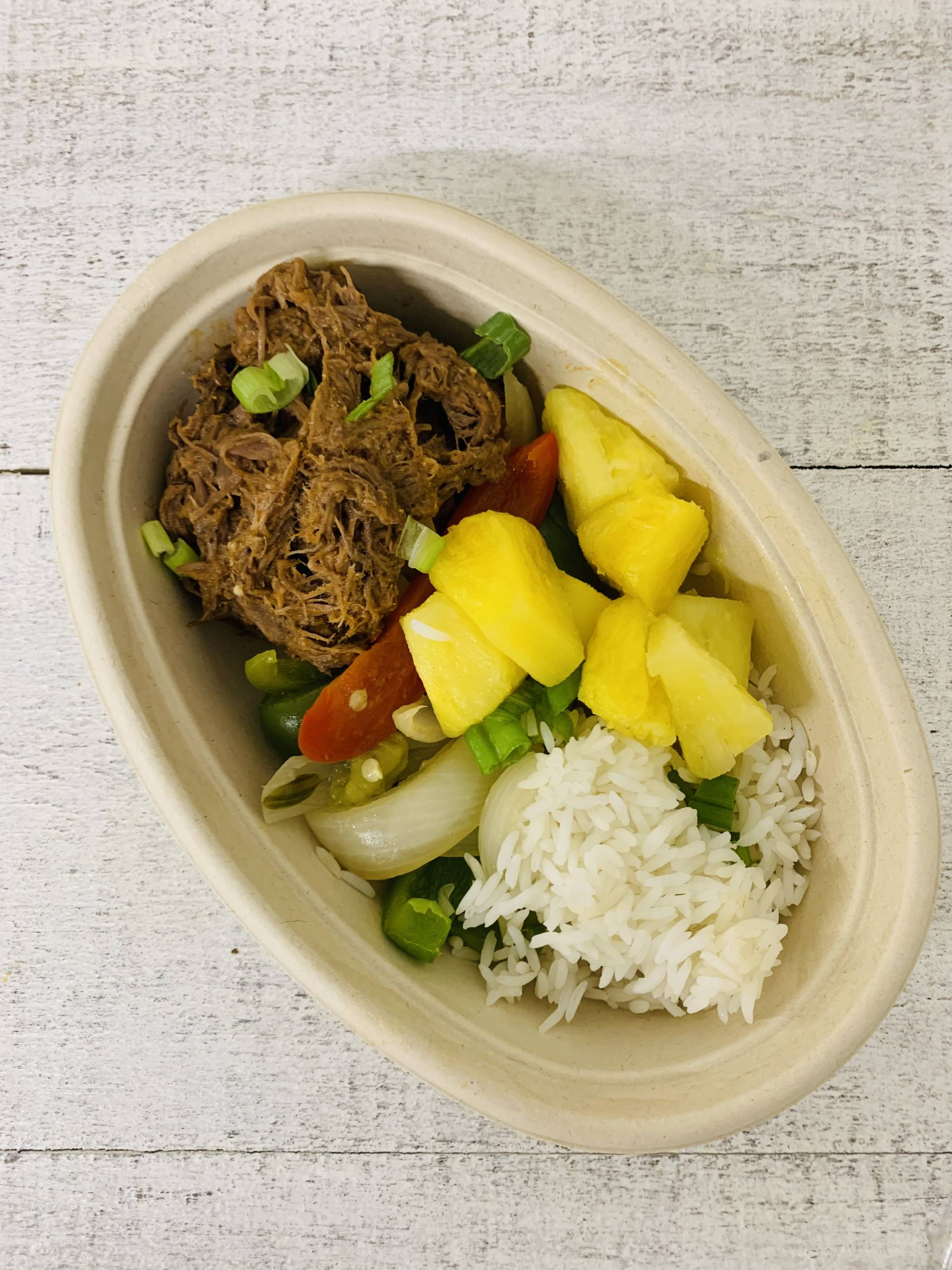 Sweet & Saucy Beef Bowl